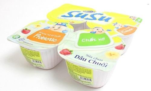 Sữa chua Susu hương dâu chuối