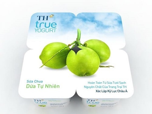 Sữa chua TH True Milk dừa