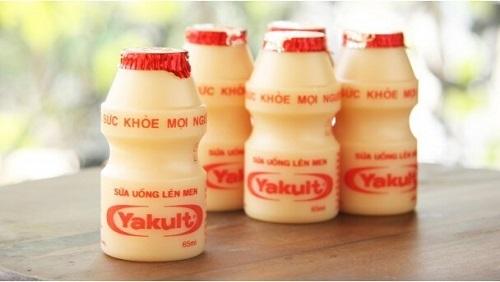 bảo quản sữa chua uống lên men Yakult.