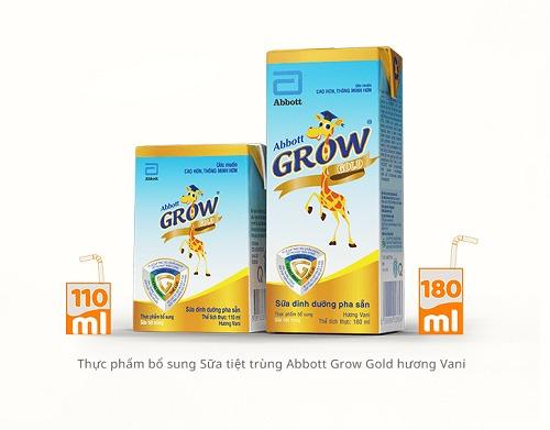 nên uống sữa abbott grow gold 6+ hay sữa bột