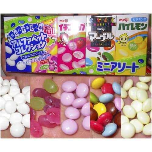 kẹo sữa chua meiji khô