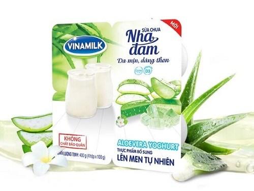 Sữa chua vinamilk nha đam