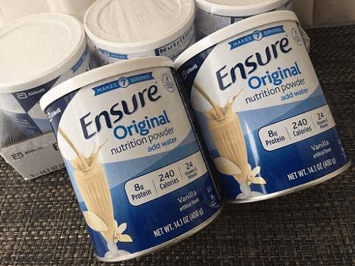 sữa ensure mỹ