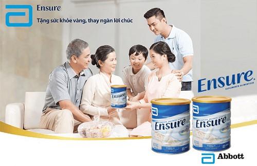 sữa ensure gold úc giúp xương chắc khỏe