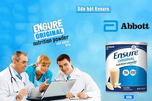 thành phần sữa Ensure Mỹ