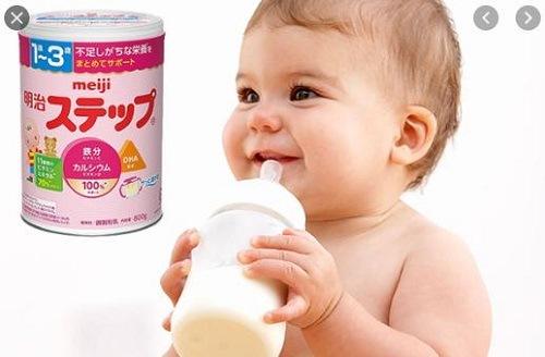 sữa meiji 1-3 hộp