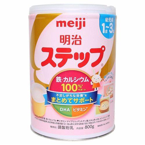 sữa meiji 1-3